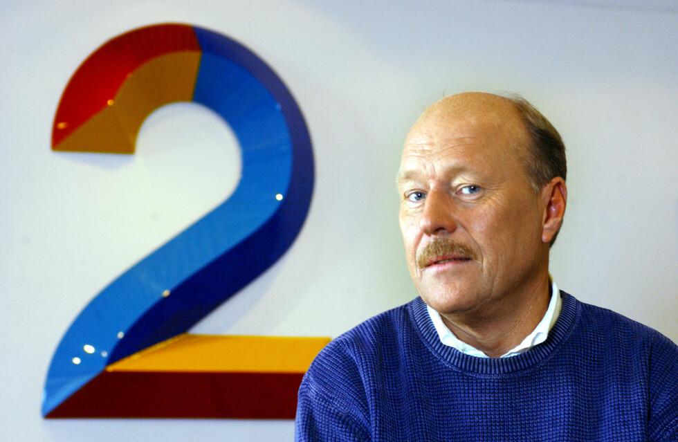LANG KARRIERE: I 1975 ble Lønning ansatt i NRK-radio, og har siden den gang jobbet både for TV Norge, TV 2 og P4. I dag er han pensjonert. Foto: NTB scanpix