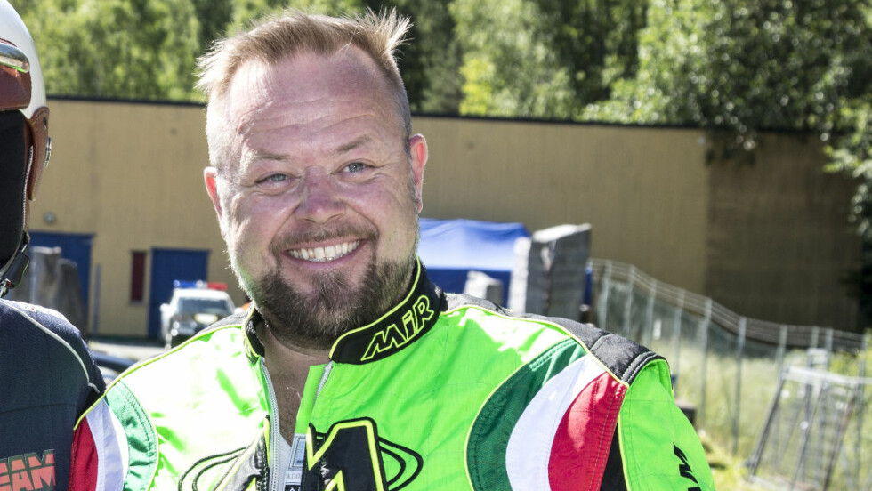 MOTORGAL: Asgeir Borgermoen har motordilla, og hadde sine første erfaringer bak rattet som niåring. Foto: Morten Eik, Se og Hør
