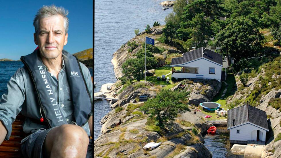 HYTTEDRØM: Jonas Gahr Støres hytte ligger idyllisk til ved Kilsund utenfor Tvedestrand. D en har vært i familiens eie siden 1950. Foto: Tor Lindseth, Se og Hør