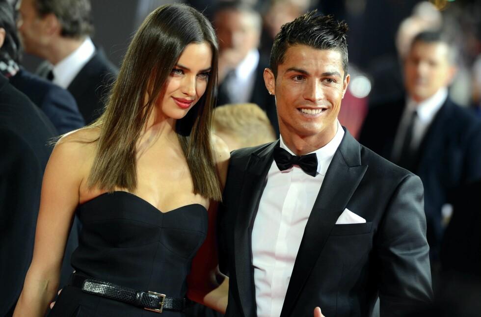 BRUDD: Irina Shayk og Cristiano Ronaldo ble sammen i 2010, omtrent samtidig som fotballstjernens sønn kom til verden. Ved årsskiftet 2014/2015 gikk de to fra hverandre.  Foto: Ap