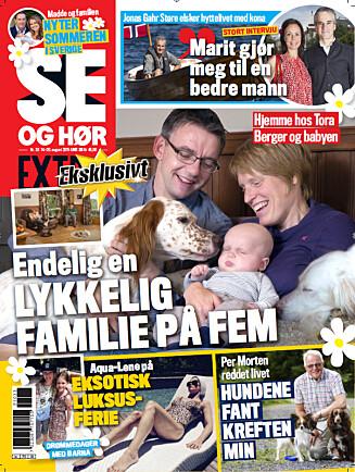 I SALG NÅ: I Se og Hør Extra, som er i salg nå, kan du lese hele saken og se alle de flotte bildene fra Jenny Jenssens feriehus.