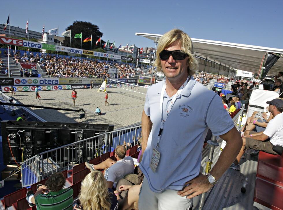 GLEDER SEG: Den tidligere sandvolleyballstjernen Bjørn Maaseide ser fram til å delta i programmet. Foto: NTB scanpix