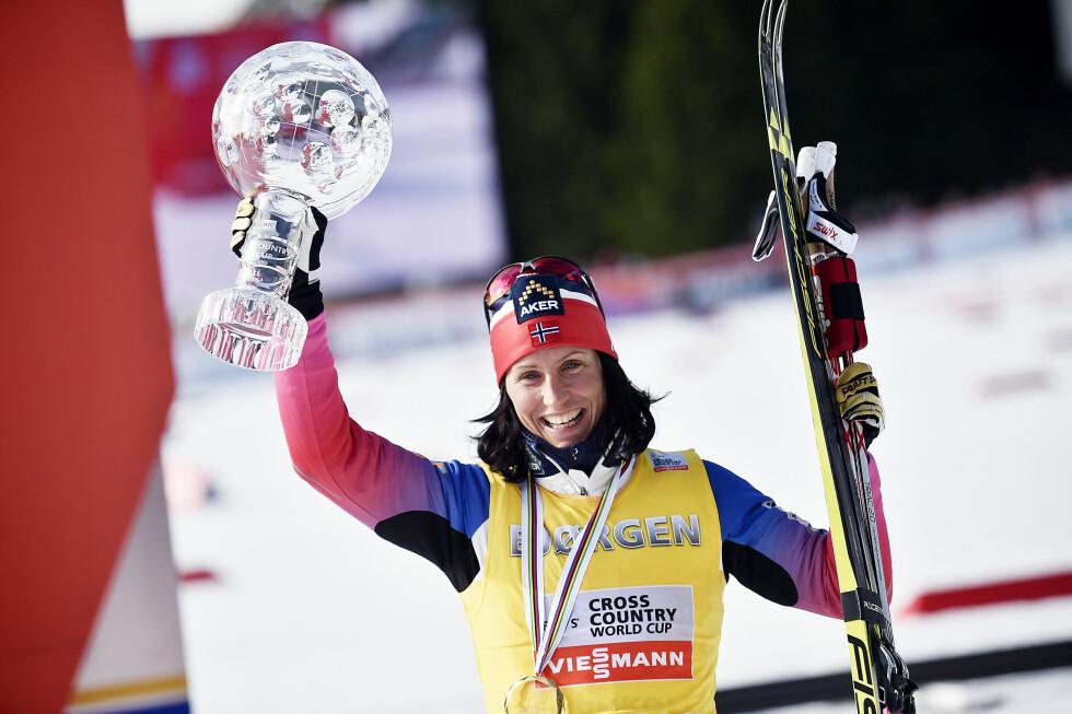 TALENTFULLE: Bjørgen og samboeren Fred Børre Lundberg har tilsammen åtte OL-gull. Foto: NTB scanpix