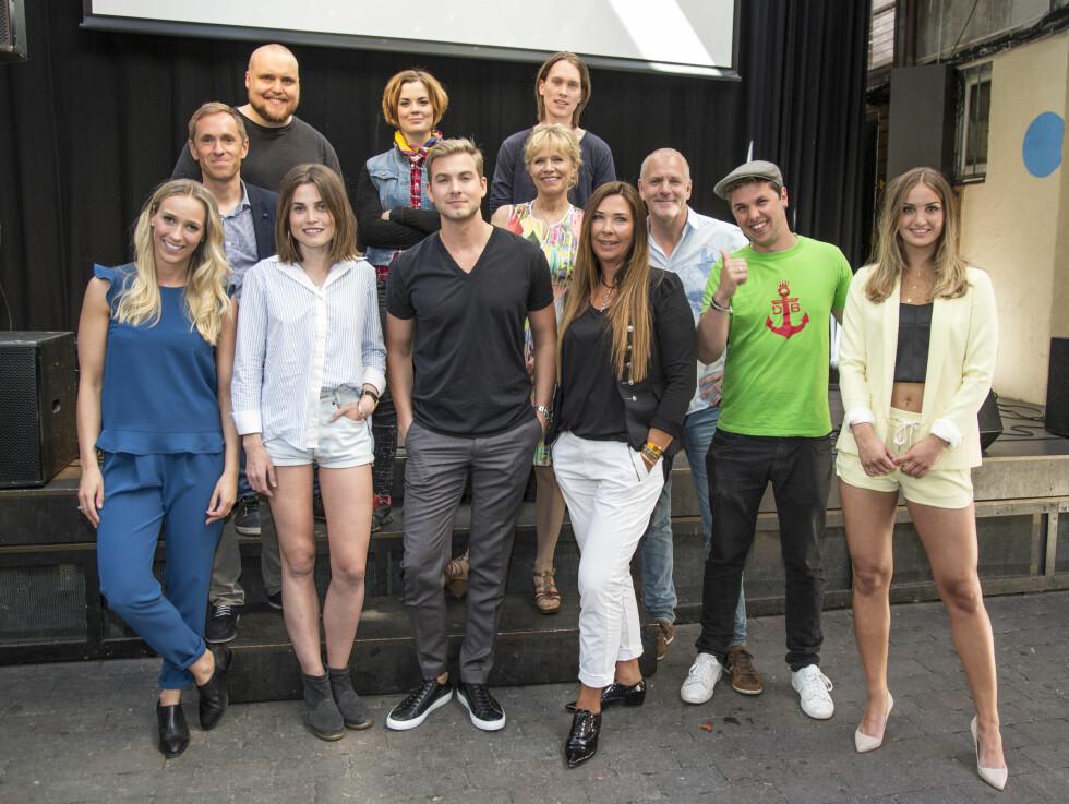 <strong>ÅRETS DELTAKERE:</strong> Det er en gjeng med mange forskjellige kjendiser i årets TV-program.  Foto: Morten Eik