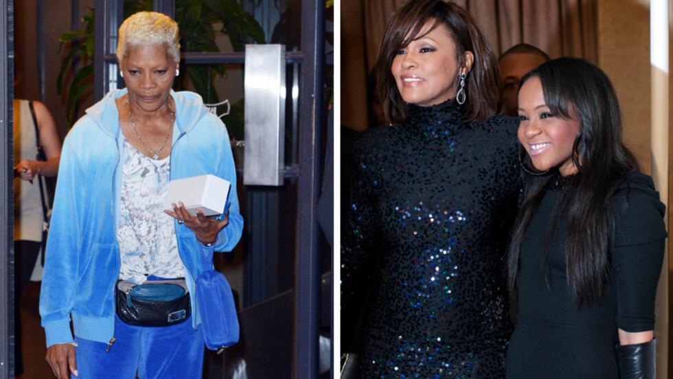 VURDERER BOIKOTT: Whitney Houstons kusine, popstjernen Dionne Warwick, er så misfornøyd med planene for Bobbi Kristinas begravelse at hun vurderer å droppe minnestunden. Foto: Scanpix