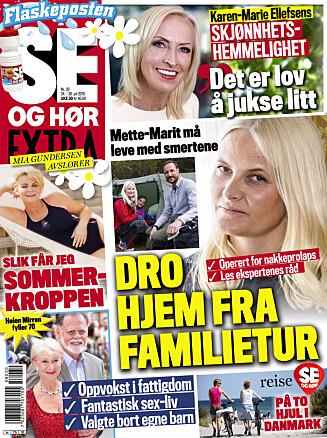 LES MER: I nyeste nummer av Se og Hør Extra forteller Kaia Huuse mer om bruddet med Jan Eggum. Foto: Se og Hør