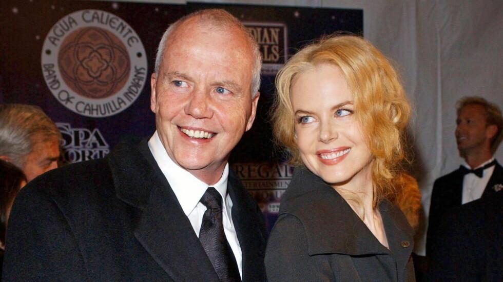 TUNG TID: Nicole Kidman knakk fullstendig sammen da faren Anthony døde uventet i fjor. Foto: All Over Press