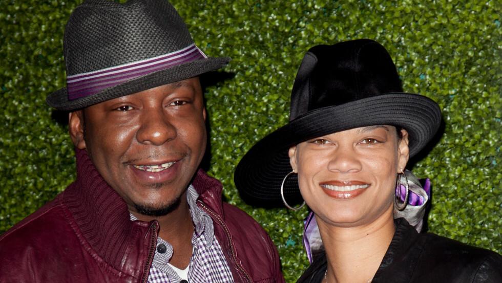 NYBAKTE FORELDRE: Bobby Brown og kona Alicia fikk lørdag en datter.  Foto: NTB scanpix