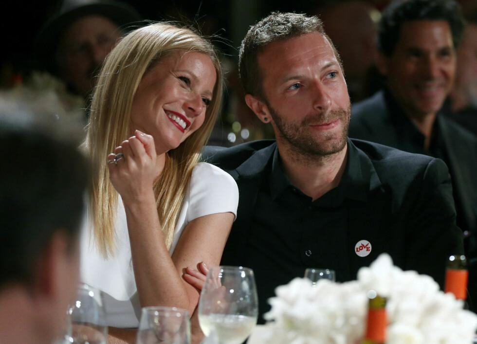 Gwyneth Paltrow og Chris Martin viste seg sjeldent sammen, men var et par i tolv år før de gikk hver sin vei. Foto: Scanpix
