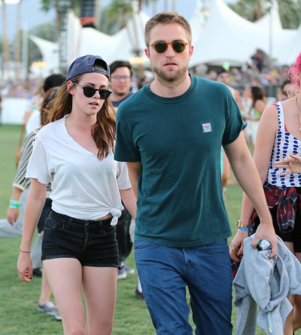 """Forholdet mellom """"Twilight""""-kollegaene Robert Pattinson og Kristen Stewart tok brått slutt da sistnevnte var utro med en filmregissør. Foto: Scanpix"""