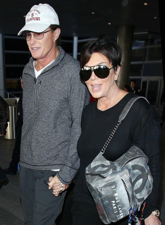 Etter 22 år som ektepar, valgte Kris og Bruce Jenner (nå Caitlyn Jenner) å gå fra hverandre i fjor. Foto: Scanpix