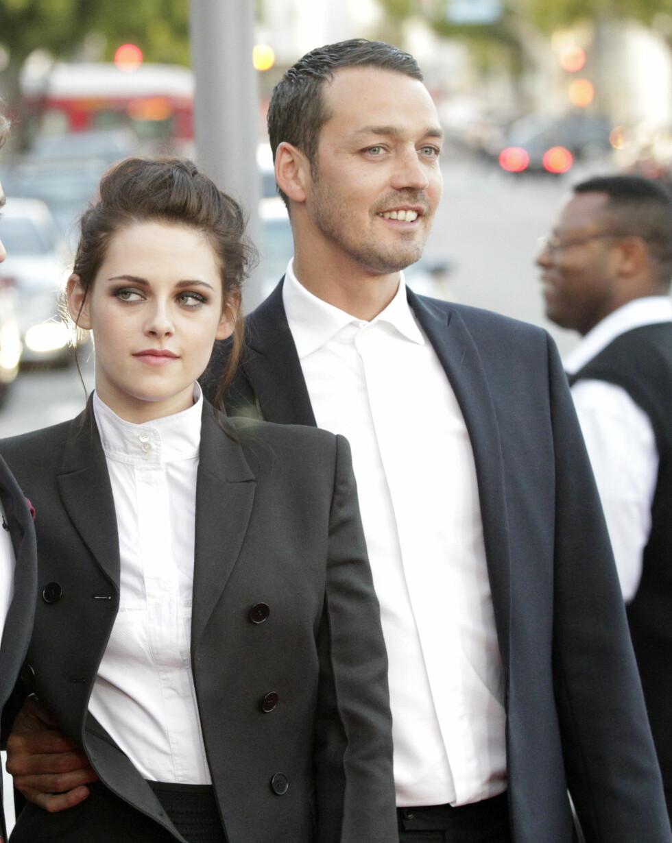 <strong>UTRO:</strong> Forholdet mellom Kristen Stewart og Robert Pattinson tok slutt da førstenevnte hadde en affære med regissør Rupert Sanders (avbildet). Foto: Scanpix