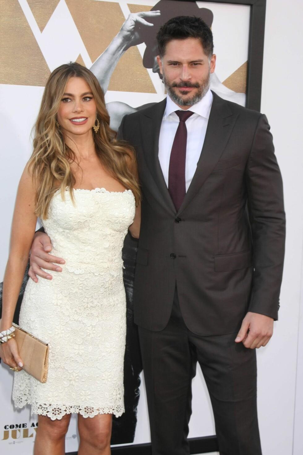 FLOTTE: Sofia Vergara og Joe Manganiello har fort blitt et av Hollywoods store stjernepar.  Foto: NTB scanpix