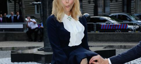 Slik reagerte Elizabeth Olsen da vinden tok kjolen