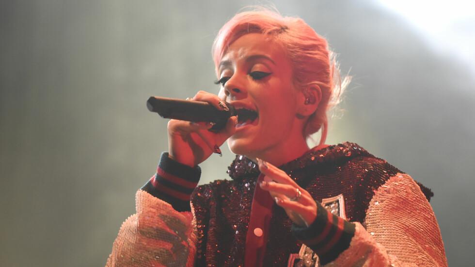"""STJERNE: Lily Allen slo gjennom allerede i 2006 med den superpopulære låten """"Smile"""". Foto: Scanpix"""