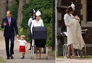Prinsesse Charlotte møtt med stor jubel