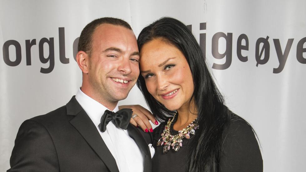 """TOK SLUTT: Kim Daniel og kjæresten Camilla Monsen har gjort det slutt. I fjor var de på TV2s jubileumsfest for """"Skal vi danse"""". Foto: Tor Lindseth, Se og Hør"""