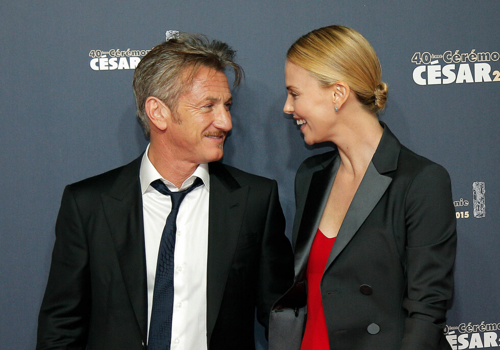 Sean Penn and Charlize Theron arrives at the 40th French Cesar Awards Ceremony, in Paris, Friday Feb. 20, 2015. This annual ceremony is presented by the French Academy of Cinema Arts and Techniques. (AP Photo/Thibault Camus) Foto: Ap
