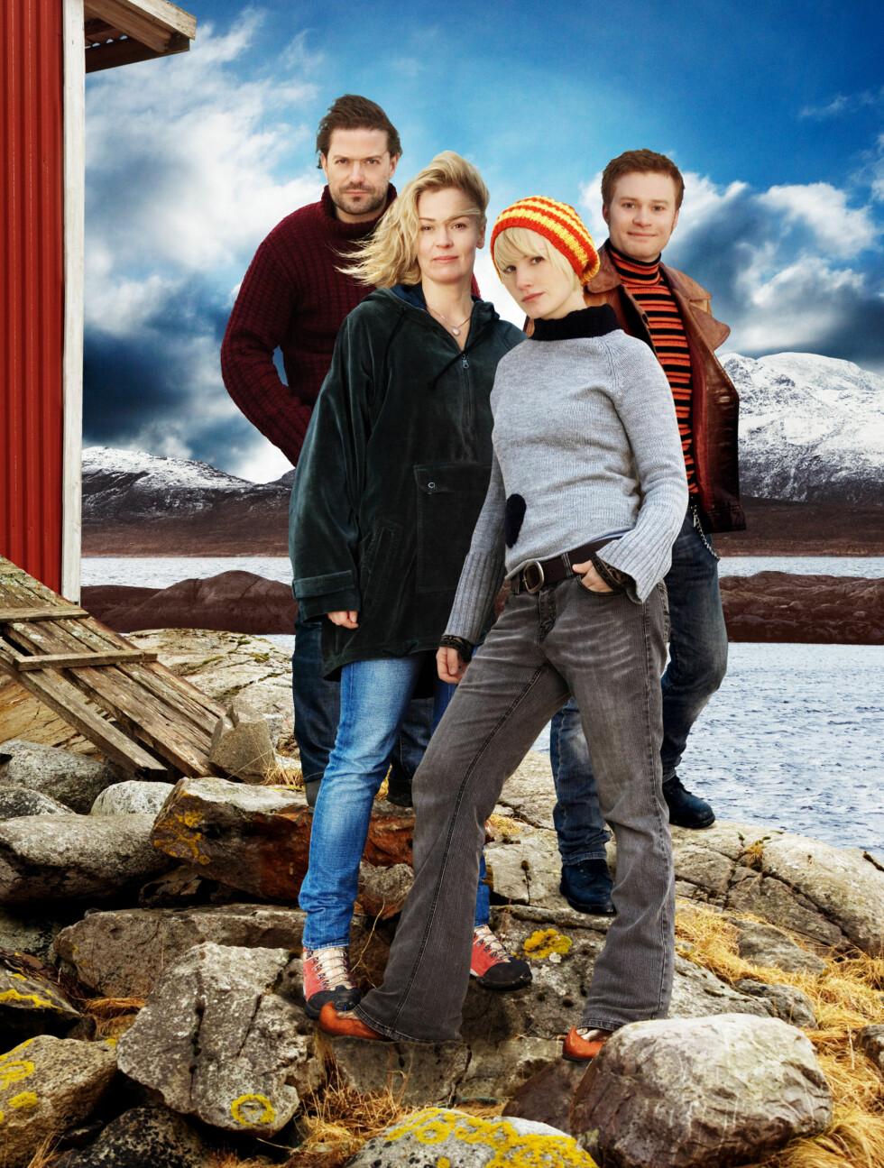 FOLKEKJÆR FAVORITT: Lena slo for alvor gjennom i serien «Himmelblå» i 2008. Foto: NRK