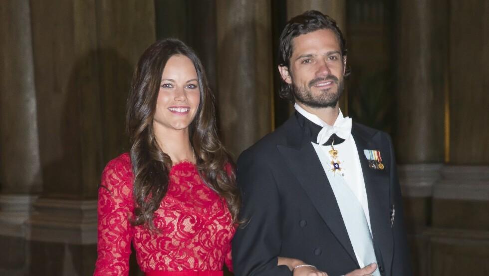 SNART EKTEPAR: I helgen blir Carl Philip og Sofia Hellqvist smidd i hymens lenker.  Foto: Aftonbladet