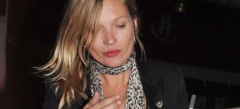 Kate Moss ble kastet av flyet