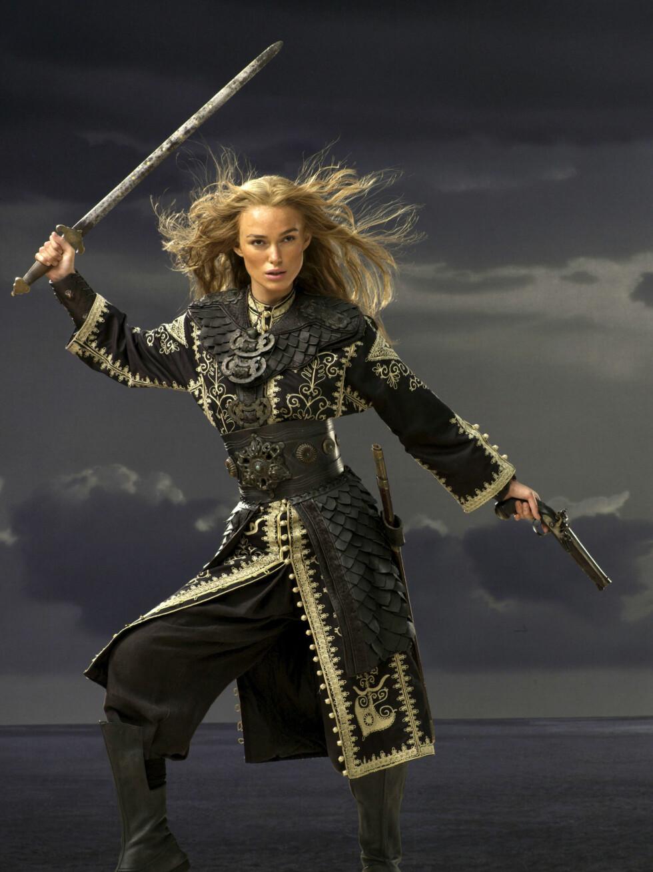 POPULÆR: Keira Knightley har gjort stor suksess med sin rolle i «Pirates of the Caribbean»-filmene.