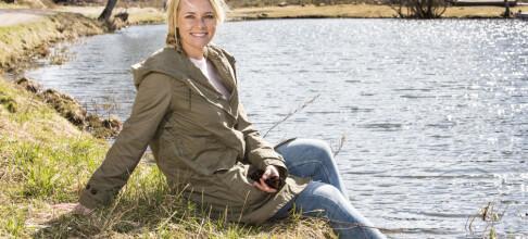Gravide Henriette Bruusgaard føler seg i fin form
