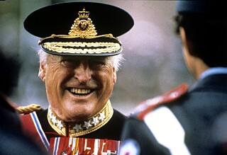 Kong Olav hedres under kongelig slektstreff i Oslo