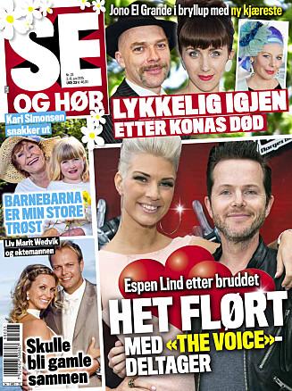 I SALG NÅ: Les hele intervjuet med Kari Simonsen, og se flere private bilder i Se og Hør som er i salg fra tirsdag!