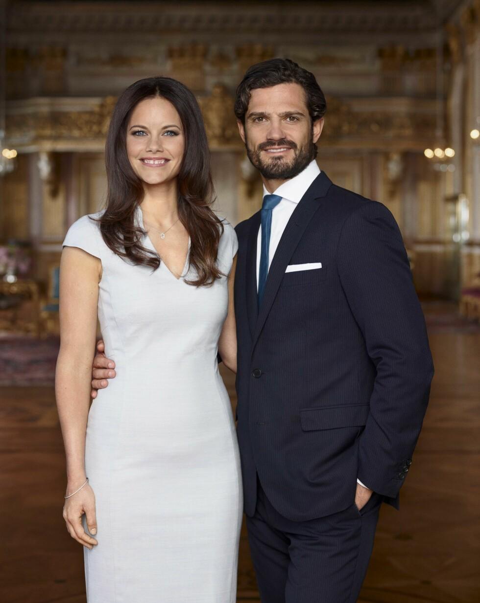 GIFTER SEG: 13. juni skal Sofia og Carl Philip gifte seg. Foto: Splash News