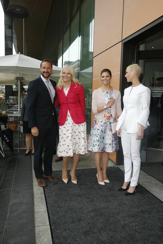 KRONPRINSEN OGSÅ TIL STEDE: Kronprins Haakon fikk også være med på konferansen i Stockholm. Foto: Andreas Fadum, Se og Hør