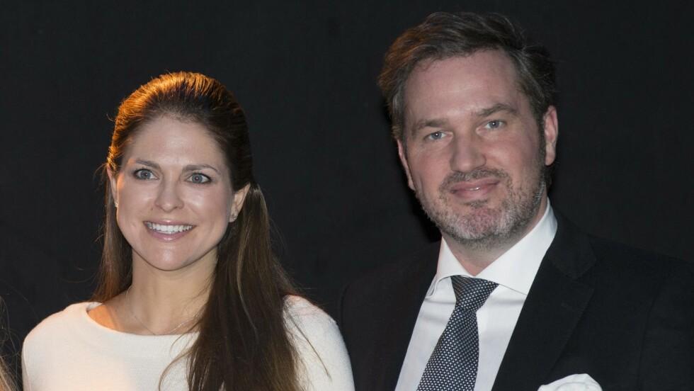 STILLER IKKE OPP: Det svenske hoff bekrefter at prinsesse Madeleines ektemann, Chris O'Neill, ikke vil være til stede når svenskene feirer nasjonaldagen. Foto: NTB Scanpix