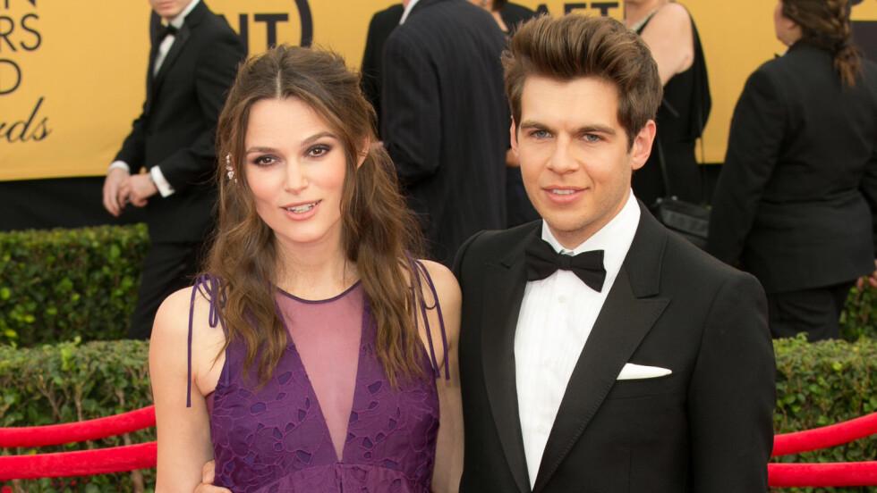 FORELDRE: E! News melder at Keira Knightley og James Righton er blitt foreldre. Foto: wenn.com