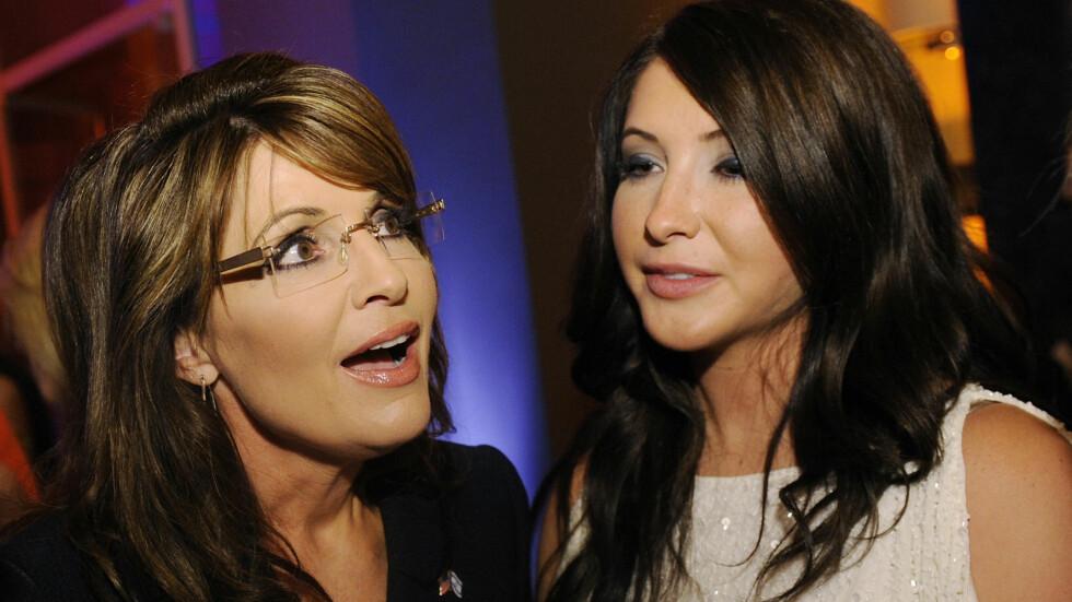 OVERRASKET: Sarah Palin og datteren Bristol Palin avslørte denne uken at det ikke blir noe bryllup mellom Bristol og forloveden Dakota Meyer denne helgen. Foto: Reuters