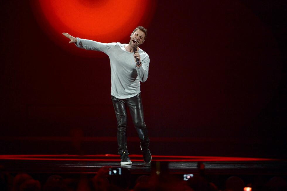 SVENSK HÅP: Måns Zelmerlöw har fått mange nye fans på grunn av sin nye Eurovision-låt «Heroes». Foto: Aftonbladet/Scanpix