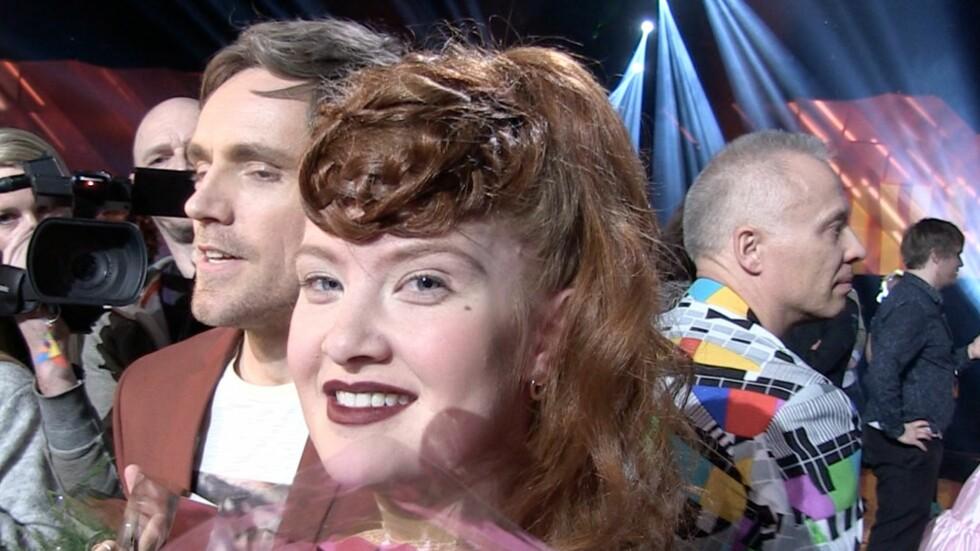 SPENT: Debrah Scarlett er klar for å representere Norge sammen med Kjetil Mørland i den internasjonale Melodi Grand Prix-finalen.  Foto: Ida Nikolaisen/ Se og Hør