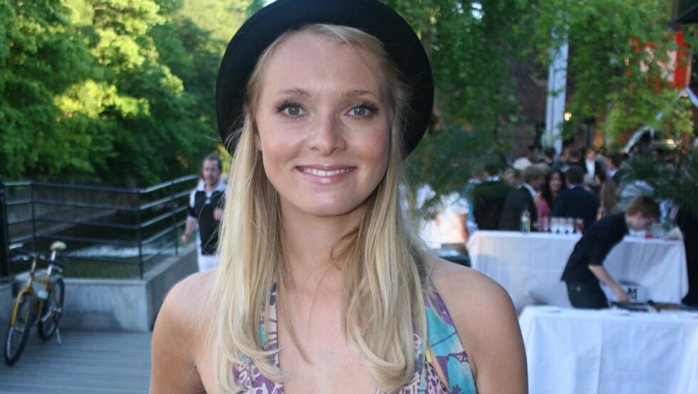 <strong>BLIR MAMMA:</strong> Henriette Bruusgaard er i lykkelige omstendigheter.