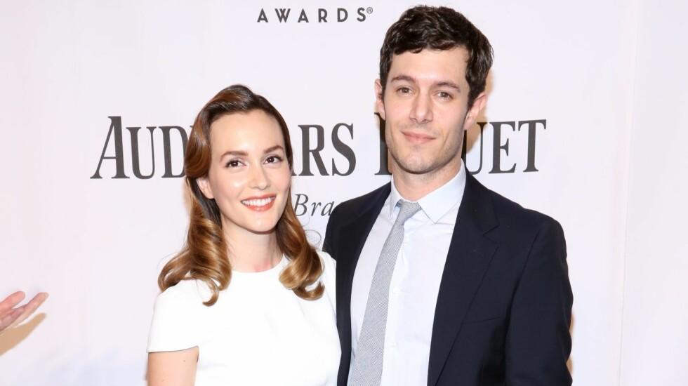 FLOTT PAR: Skuespillerne Adam Brody og Leighton Meester venter deres første barn, skriver UsWeekly. Foto: wenn.com