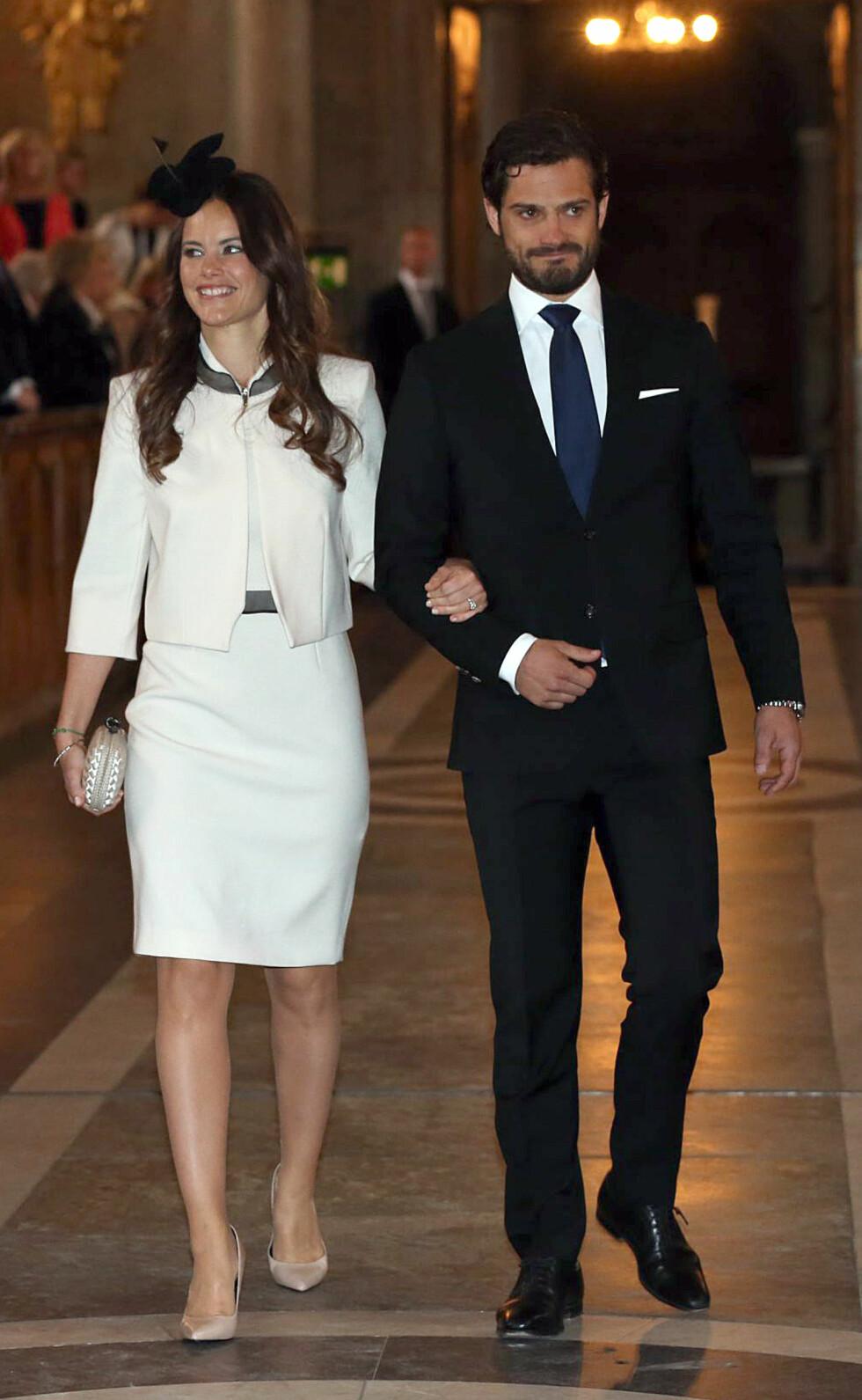 PRINSESSE: Etter bryllupet i juni får Sofia prinsesse-tittel. Foto: Aftonbladet