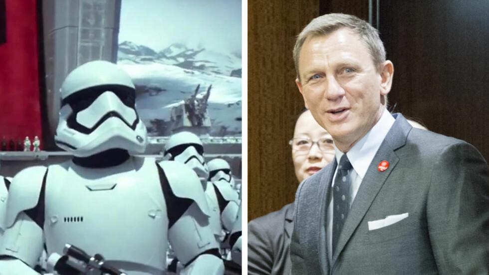 - Daniel Craig har fått en hemmelig rolle i «Star Wars»