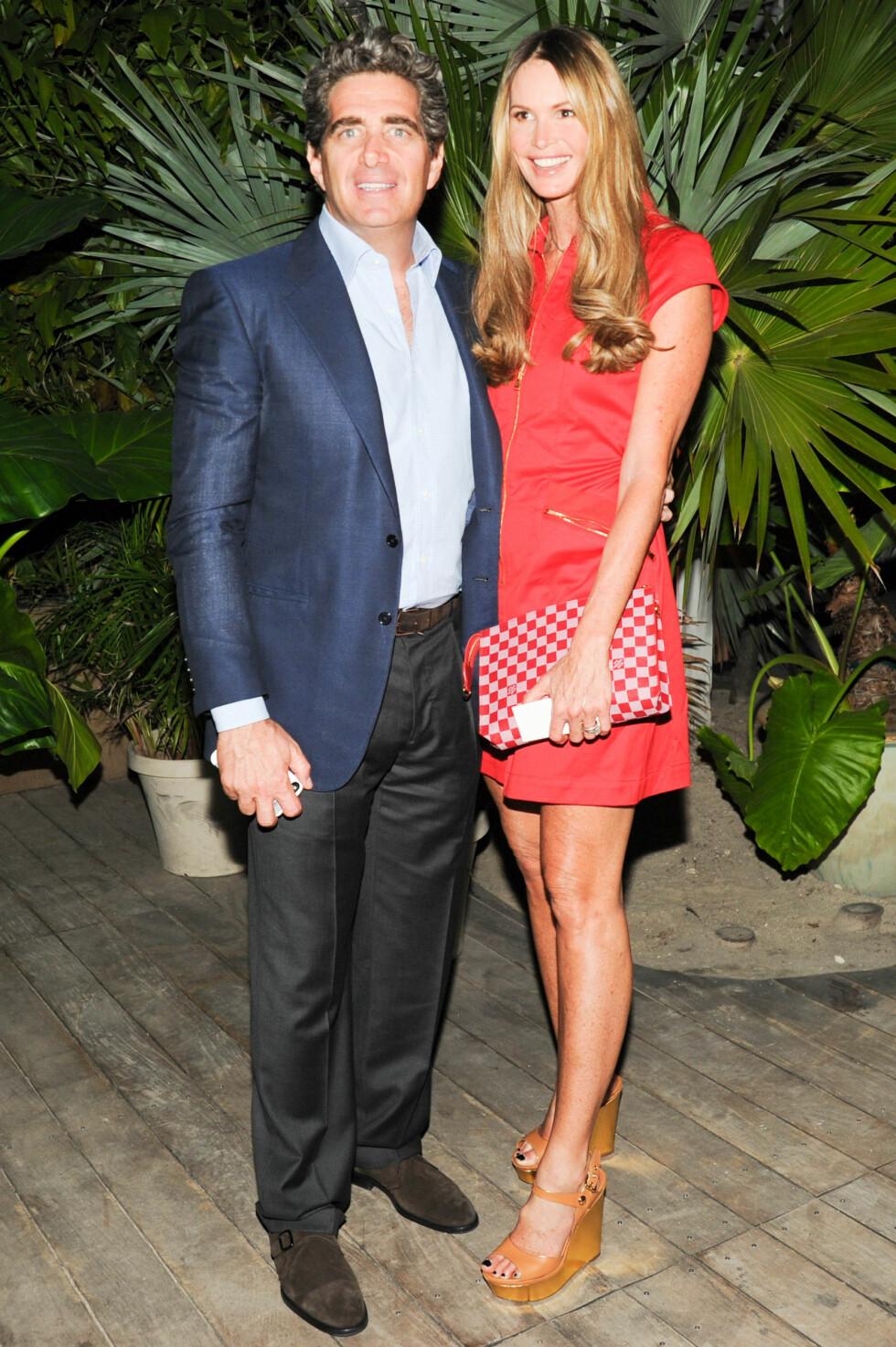LYKKELIG: I tre år har Macpherson vært gift med Jeffrey Soffer. Foto: SipaUSA