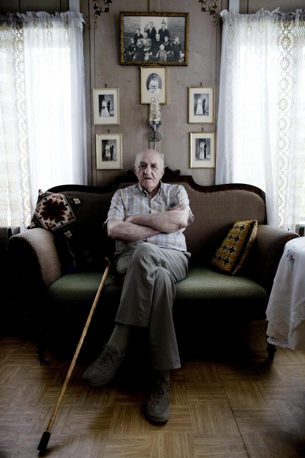 SNAKKER UT: Snåsamannen forteller om livet i TVNorge-programmet Bygdedoktoren. Foto: NTB Scanpix