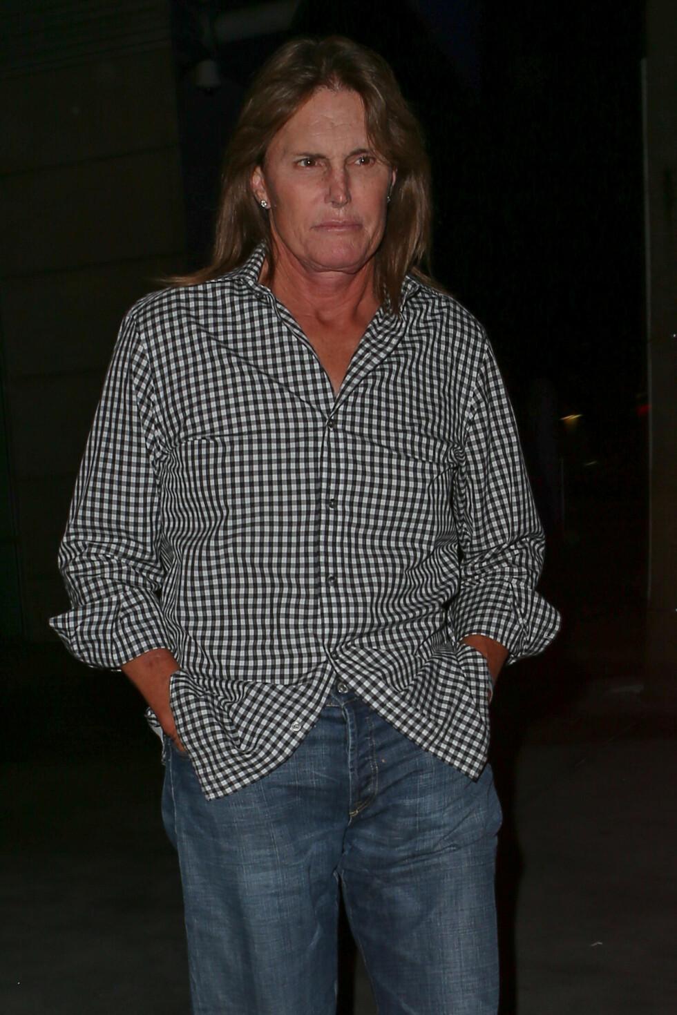 LANGHÅRET: Bruce Jenner så slik ut i 2014. Foto: NTB Scanpix
