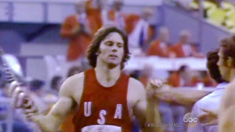 DEN GANG DA: Her er Bruce i sine yngre dager som OL-vinnende atlet. Foto: Scanpix