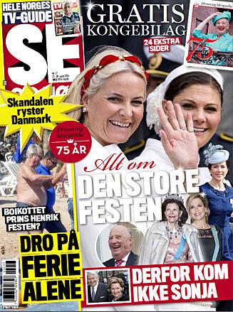 LES MER: I nyeste nummer av Se og Hør kan du lese mer om Tor Endresen og datteren. Foto: Se og Hør