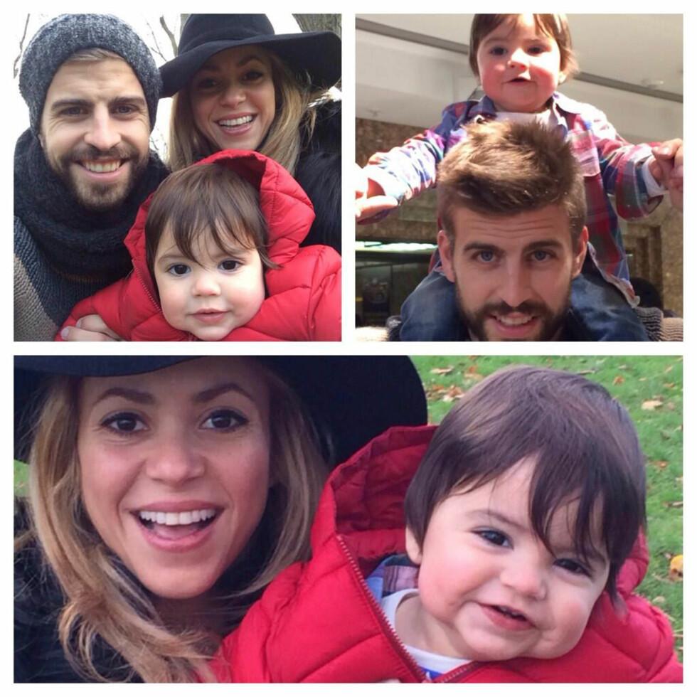 FAMILIE: For to måneder siden fikk det vakre paret barn nummer to.  Foto: Stella Pictures