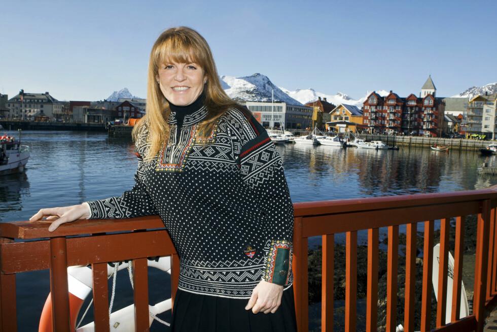 <strong>I NORGE:</strong> Hertuginne Sarah Ferguson var tilstede på VM i Skreifiske i Svolvær sammen med sin norske venn Geir Frantzen i 2008, og stilte opp til intervju med Se og Hør. Foto: Andreas Fadum