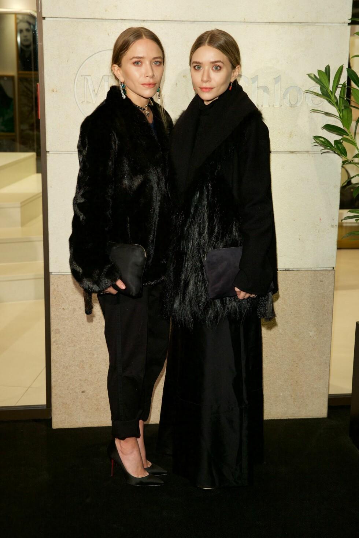 MOTEIKON: Mary-Kate og Ashley Olsen gjør det i dag stort innen design og har sine egne merker The Row, Elizabeth and James, Olsenboye og StyleMint. Foto: All Over Press