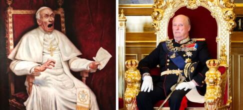 Malte skrikende pave - nå står kong Harald for tur