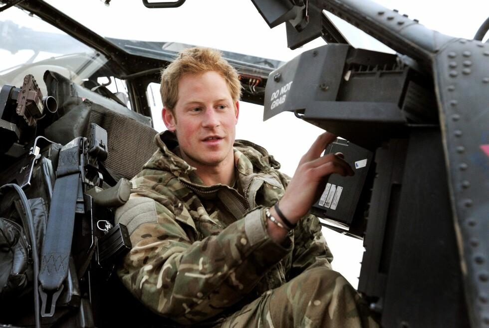 SLUTTER I MILITÆRET: Prins Harry har bare noen måneder igjen i militæret, så er han klar for feltarbeid og sabbatsår. Foto: REX/All Over Press